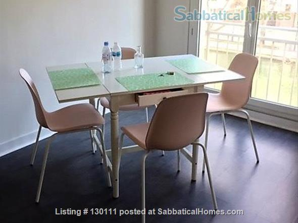 Spacious appartment with direct view onto Canal St. Martin Home Rental in Paris, Île-de-France, France 2
