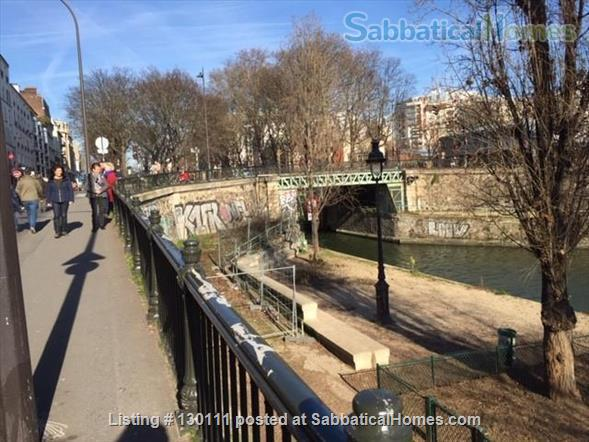 Spacious appartment with direct view onto Canal St. Martin Home Rental in Paris, Île-de-France, France 8