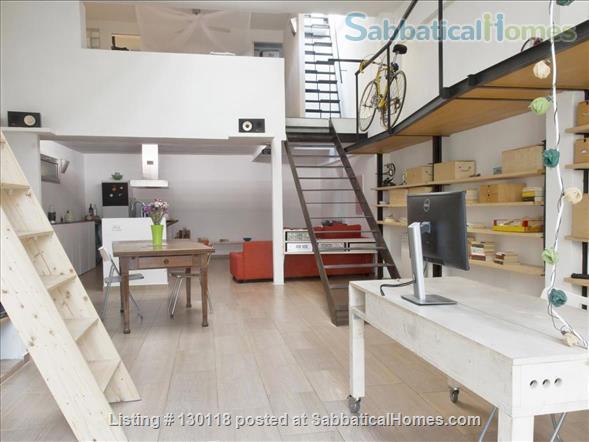 Loft in Rome Home Rental in Rome, Lazio, Italy 1