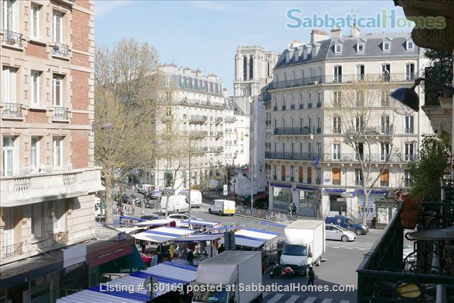 1BR Stylish French Apartment -Elevator - Center Latin quarter  Home Rental in Paris, Île-de-France, France 9