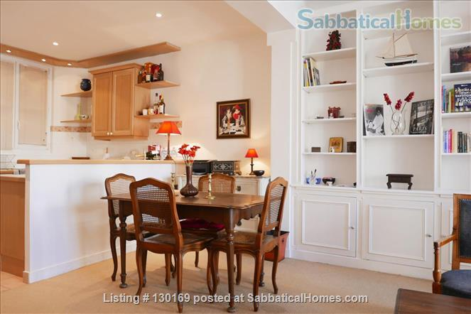 1BR Stylish French Apartment -Elevator - Center Latin quarter  Home Rental in Paris, Île-de-France, France 4