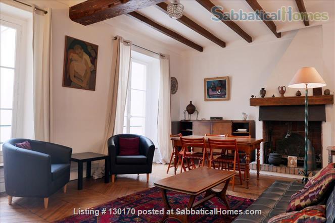 Unique apt for 6 - Center Le Marais. Home Rental in Paris, Île-de-France, France 1