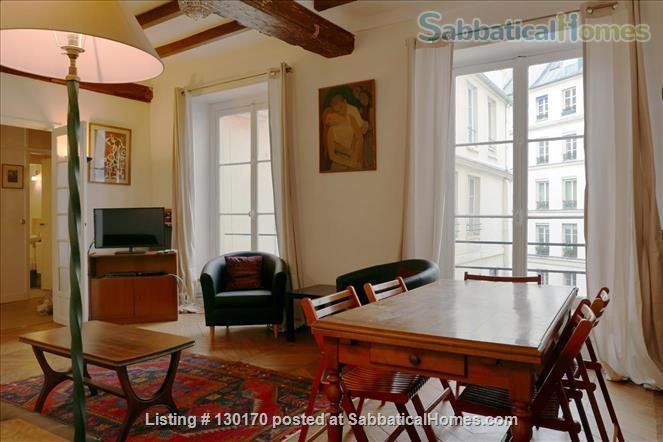 Unique apt for 6 - Center Le Marais. Home Rental in Paris, Île-de-France, France 0