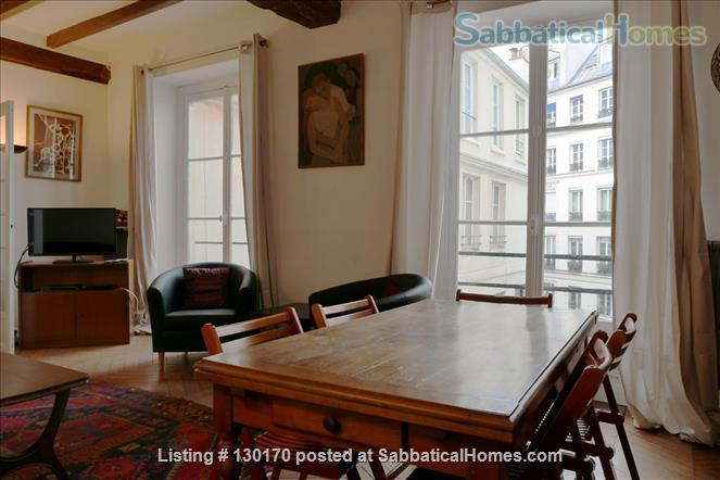 Unique apt for 6 - Center Le Marais. Home Rental in Paris, Île-de-France, France 4