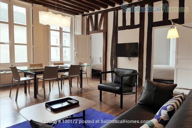 Unique apt for 6 - Great place in Le Marais. Home Rental in Paris, Île-de-France, France 1
