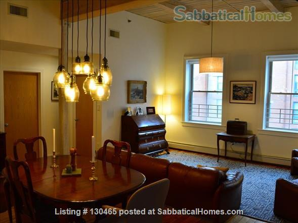 Sun-filled, historic downtown condo Home Rental in New Haven, Connecticut, United States 1