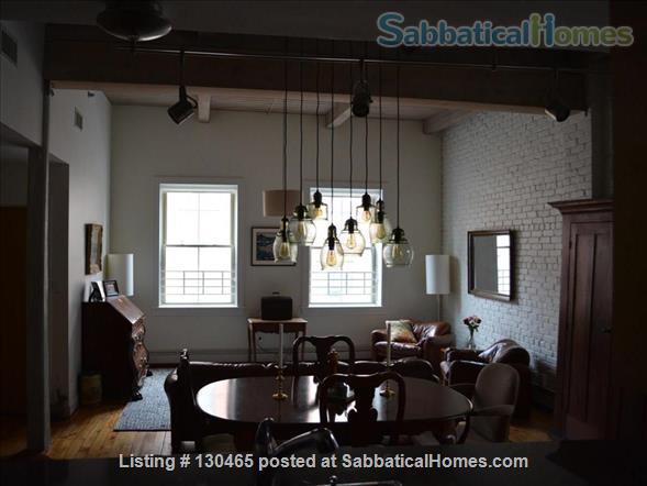 Sun-filled, historic downtown condo Home Rental in New Haven, Connecticut, United States 0