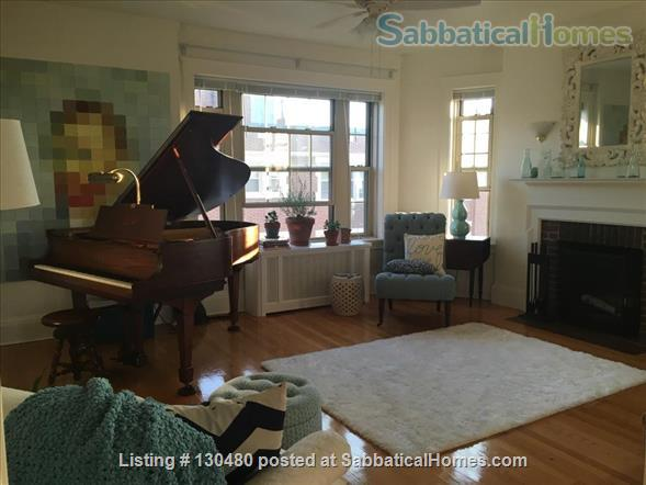 Sunny & Secure 1 Bedroom with Dining Room and Study, Furnished Sublet, Harvard Square/Cambridge Common, Steps to Redline Home Rental in Cambridge, Massachusetts, United States 1