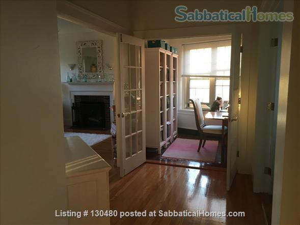 Sunny & Secure 1 Bedroom with Dining Room and Study, Furnished Sublet, Harvard Square/Cambridge Common, Steps to Redline Home Rental in Cambridge, Massachusetts, United States 5