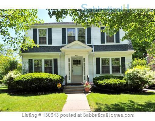 Colonial home for rent with free parking  Home Rental in Cambridge, Massachusetts, United States 1