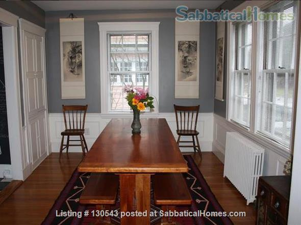 Colonial home for rent with free parking  Home Rental in Cambridge, Massachusetts, United States 5