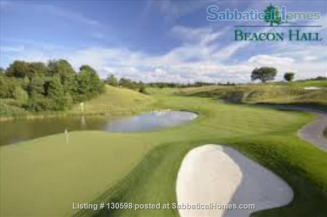 Beacon Hall Golf Course Home, Aurora, Toronto GTA Home Rental in Aurora, Ontario, Canada 9