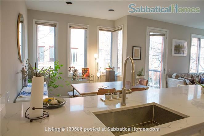 Bright, conveniently located townhome  Home Rental in Chicago, Illinois, United States 2