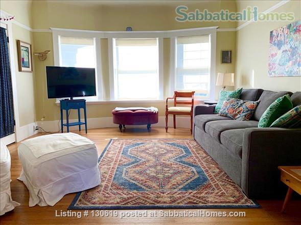Sunny N. Berkeley 1 bed furnished apartment, short walk to CAL & BART Home Rental in Berkeley 0