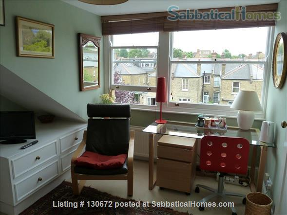 comfortable room in pleasant quiet house Home Rental in London, England, United Kingdom 0