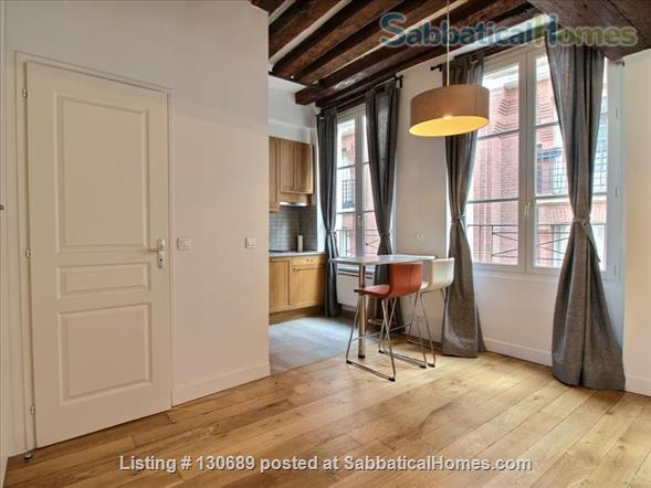 Charming 1 bedroom apartment in Latin Quarter 200 yards from Notre Dame Home Rental in Paris, Île-de-France, France 0