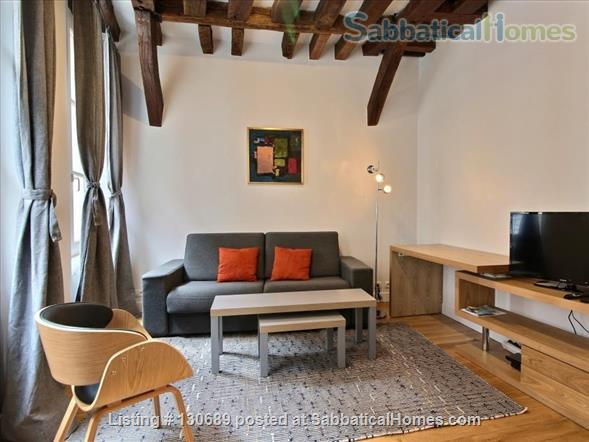 Charming 1 bedroom apartment in Latin Quarter 200 yards from Notre Dame Home Rental in Paris, Île-de-France, France 3