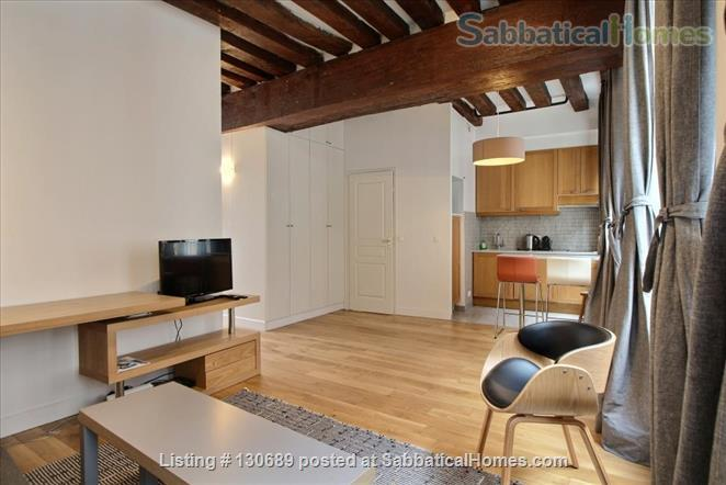 Charming 1 bedroom apartment in Latin Quarter 200 yards from Notre Dame Home Rental in Paris, Île-de-France, France 5