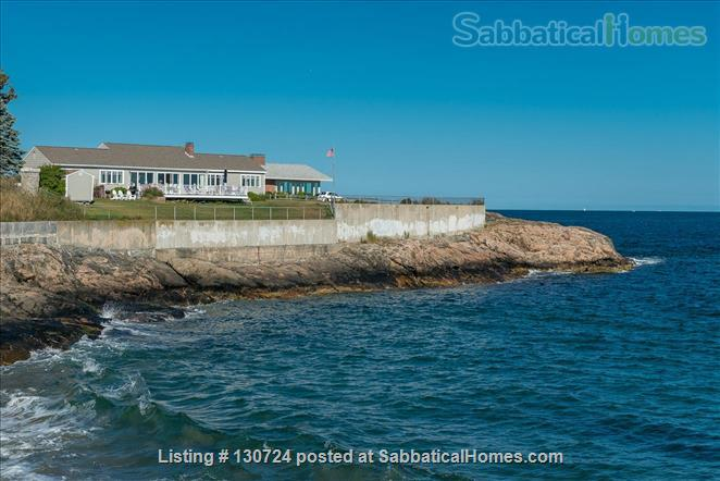 Furnished, Oceanfront/Beachfront 3-bedroom,2-bathroom home  Home Rental in Marblehead, Massachusetts, United States 1