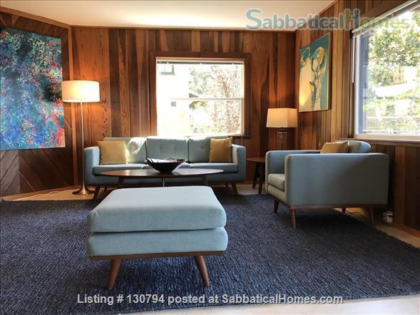 listing image for Spacious Berkeley apartment with balcony and view of San Francisco Bay.  Walk to campus.