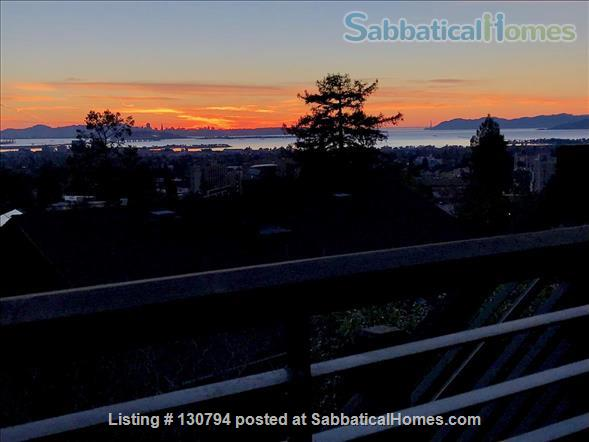 Spacious Berkeley apartment with balcony and view of San Francisco Bay.  Walk to campus. Home Rental in Berkeley 8