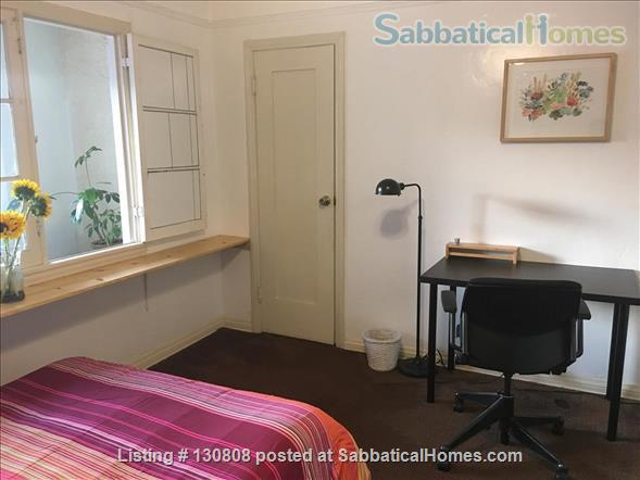 Quaint furnished bedroom and private bathroom in large 1930s duplex Home Rental in Los Angeles, California, United States 3