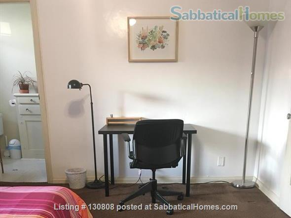 Quaint furnished bedroom and private bathroom in large 1930s duplex Home Rental in Los Angeles, California, United States 4