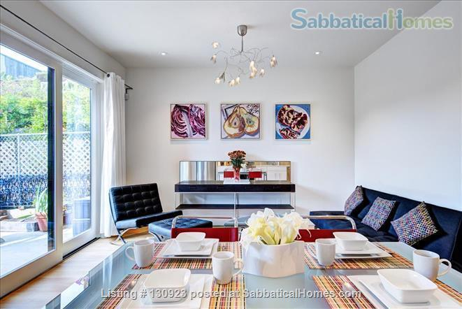 BEAUTIFUL CONTEMPORARY SAN FRANCISCO APARTMENT WITH HIDDEN GARDEN Home Rental in San Francisco, California, United States 2