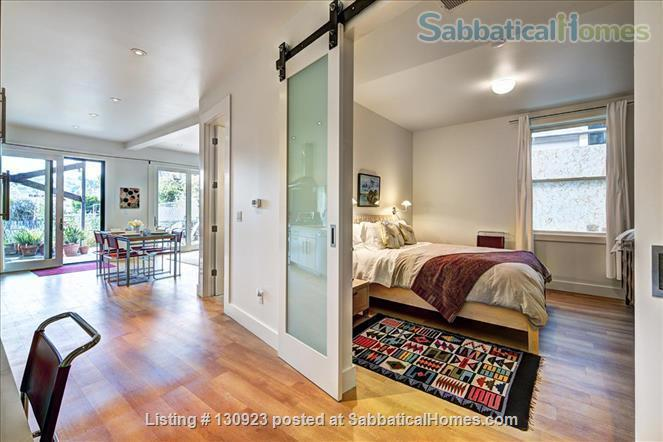 BEAUTIFUL CONTEMPORARY SAN FRANCISCO APARTMENT WITH HIDDEN GARDEN Home Rental in San Francisco, California, United States 4