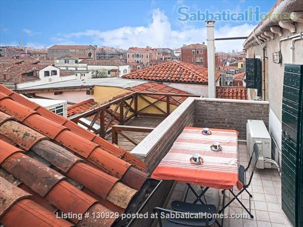 Charming historical flat overlooking the Venetian rooftops Home Rental in Venice 0