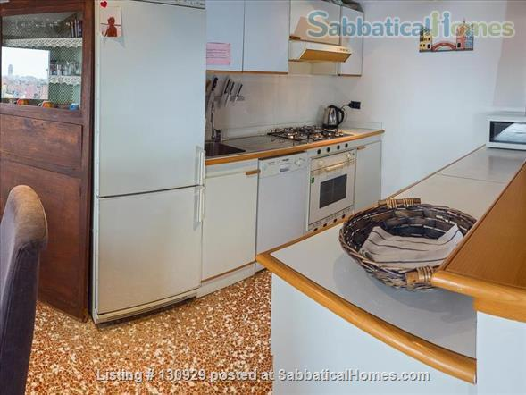 Charming historical flat overlooking the Venetian rooftops Home Rental in Venice 3