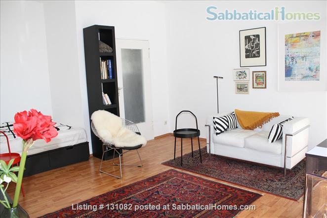 Berlin - Schoeneberg: Sunny studio on 5th floor with balcony and parking Home Rental in Berlin, Berlin, Germany 0