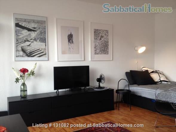 Berlin - Schoeneberg: Sunny studio on 5th floor with balcony and parking Home Rental in Berlin, Berlin, Germany 2