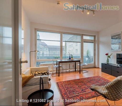 Berlin - Schoeneberg: Sunny studio on 5th floor with balcony and parking Home Rental in Berlin, Berlin, Germany 3