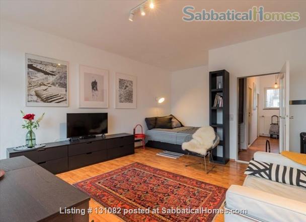 Berlin - Schoeneberg: Sunny studio on 5th floor with balcony and parking Home Rental in Berlin, Berlin, Germany 4