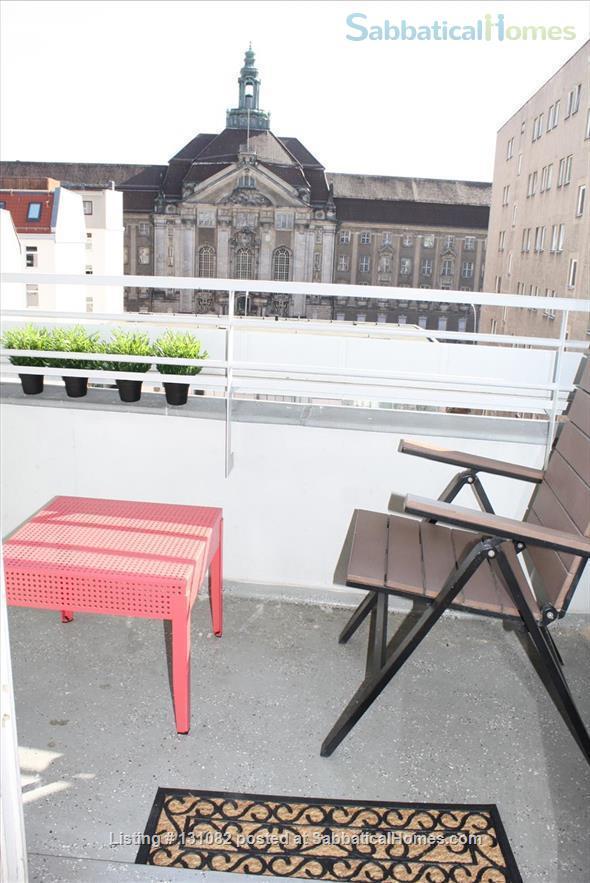 Berlin - Schoeneberg: Sunny studio on 5th floor with balcony and parking Home Rental in Berlin, Berlin, Germany 7