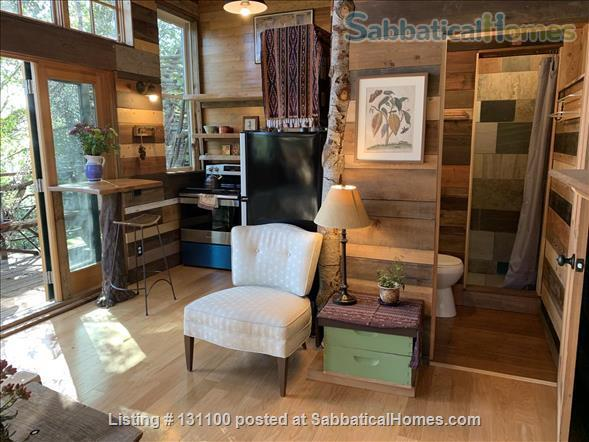 Cabin in the trees Home Rental in Berkeley, California, United States 6