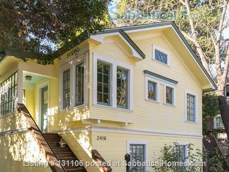 Rose Garden Studio, a sunny private studio apartment near downtown Berkeley and UC Home Rental in Berkeley 1