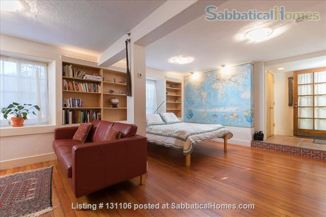 Rose Garden Studio, a sunny private studio apartment near downtown Berkeley and UC Home Rental in Berkeley 0