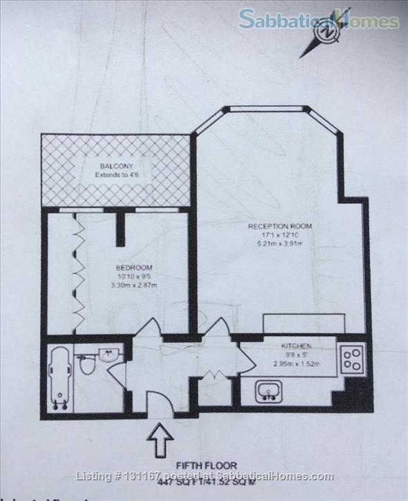 Bloomsbury Apartment WC1 Home Rental in London, England, United Kingdom 9