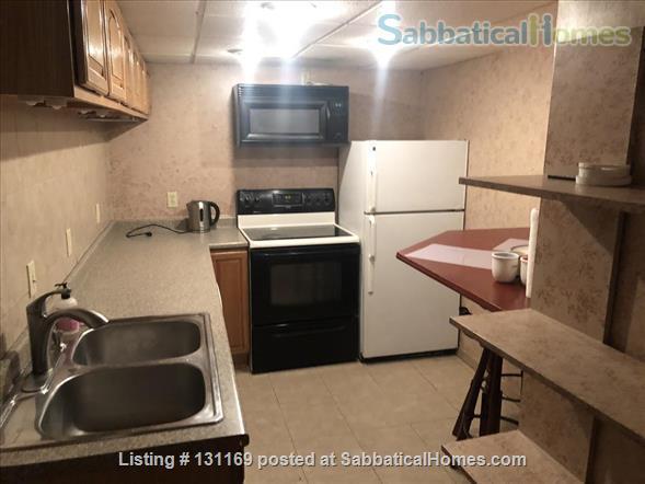 Furnished 2-room garden level suite Home Rental in Somerville, Massachusetts, United States 4