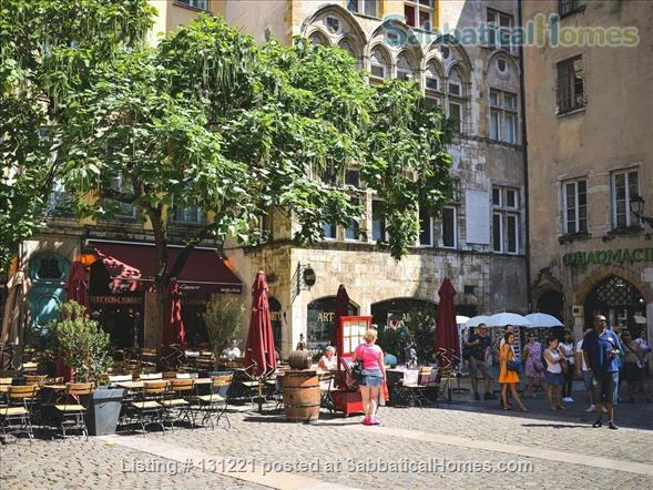 Apartment quiet and sunny for rent in the district of Vieux Lyon Home Rental in Lyon, Auvergne-Rhône-Alpes, France 9