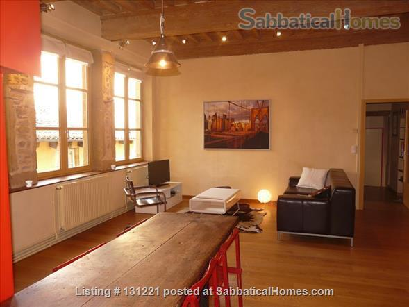 Apartment quiet and sunny for rent in the district of Vieux Lyon Home Rental in Lyon, Auvergne-Rhône-Alpes, France 1