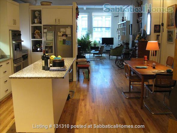 Midtown Manhattan Artist's Home Home Rental in New York, New York, United States 1