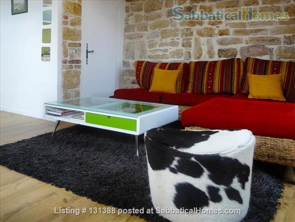 Bright and sunny Apt 4-5 persons with a view over the city Home Rental in Lyon, Auvergne-Rhône-Alpes, France 7