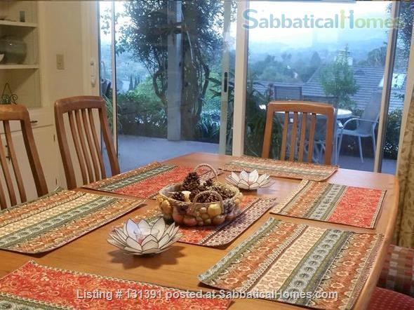 Serene 3-bedroom hilltop home with expansive mountain views. Home Rental in Santa Barbara, California, United States 3