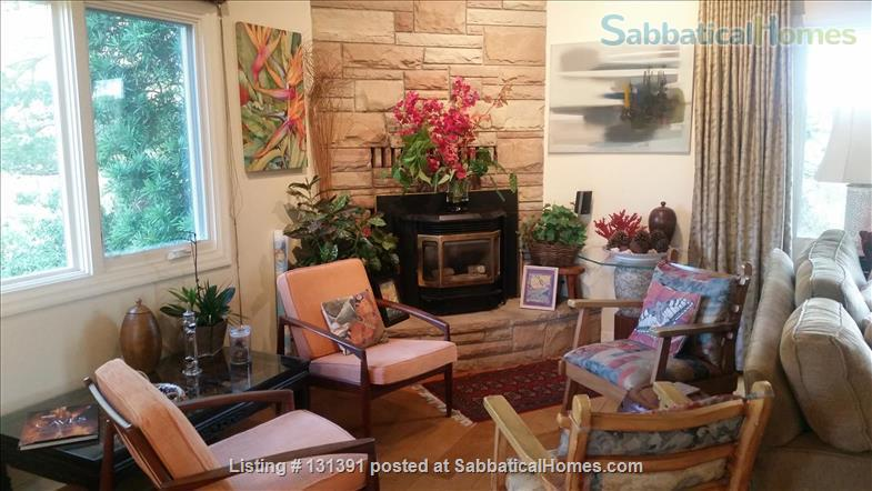 Serene 3-bedroom hilltop home with expansive mountain views. Home Rental in Santa Barbara, California, United States 4