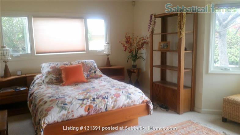 Serene 3-bedroom hilltop home with expansive mountain views. Home Rental in Santa Barbara, California, United States 5