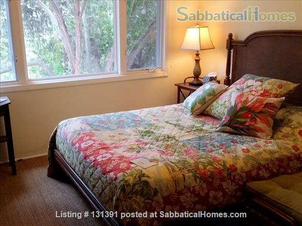 Serene 3-bedroom hilltop home with expansive mountain views. Home Rental in Santa Barbara, California, United States 6