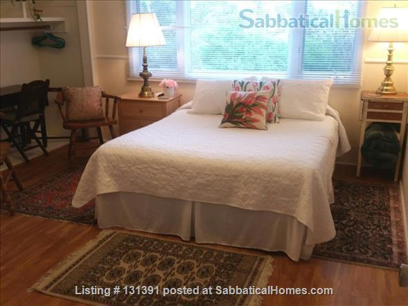 Serene 3-bedroom hilltop home with expansive mountain views. Home Rental in Santa Barbara, California, United States 7